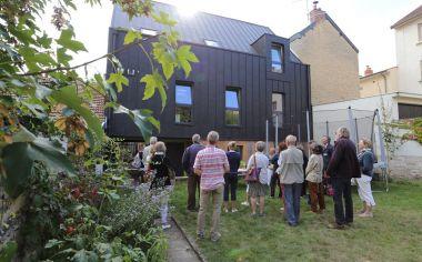 Realisation d'une extension d'une maison d'habitation en surelevation