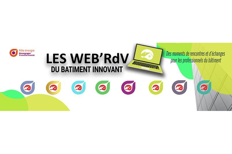 """WEB'RDV du bâtiment innovant """"E+C - 24 novembre 2020 [1]"""