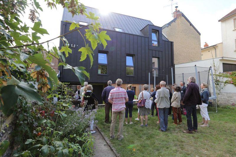 Realisation d'une extension d'une maison d'habitation en surelevation [1]